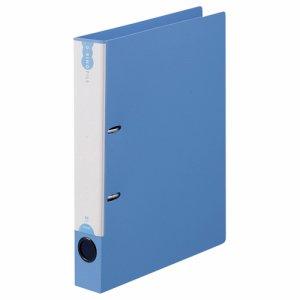 TDW-A4-B PP表紙Dリングファイル A4タテ 2穴 背幅45mm ブルー 汎用品