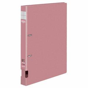 コクヨ フ-FD420NP DリングファイルS型 再生PP表紙 A4タテ 2穴 200枚収容 背幅34mm ピンク 10冊セット