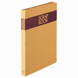 ライオン No.550 スクラップブック A4タテ クラフト台紙28枚付 背幅25mm NO.550