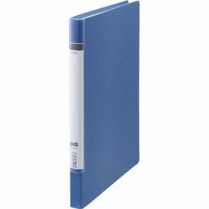 TZLA4-B 貼り表紙Zファイル ロングタイプ 青 汎用品