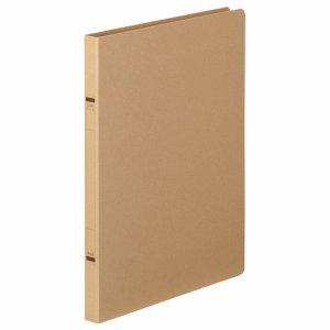 TKZF-A4SK 紙表紙クランプファイル A4タテ 背幅18mm クラフト 10冊セット 汎用品