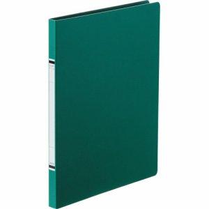 TKZF-A4SGN 紙表紙クランプファイル A4タテ 背幅18mm 緑 10冊セット 汎用品
