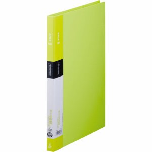 KINGJIM 578SPキミ シンプリーズ Zファイル A4タテ 120枚収容 背幅17mm 黄緑 578SP