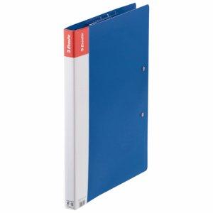 ESSELTE 626114 PPダブル Z式ファイル A4(見開きA3) ブルー