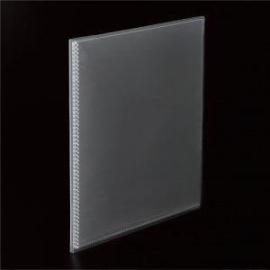 TKCA4-20C 高透明ポケットクリアブック A4タテ 20ポケット 背幅8mm クリア 汎用品