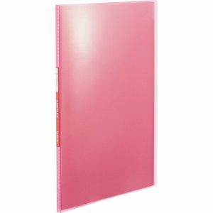 KINGJIM TH184TSPHP シンプリーズ クリアーファイル(透明) A4タテ 10ポケット 背幅10mm ピンク