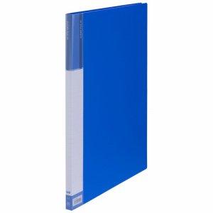 CFDA3-20B 台紙入クリヤーファイル A3タテ 20ポケット 背幅15mm ブルー 汎用品