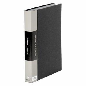 KINGJIM 132-3Cクロ カラーベーストリプル A4タテ 60ポケット 背幅35mm 黒 132-3C