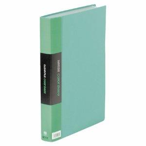 KINGJIM 132-3Cミト カラーベーストリプル A4タテ 60ポケット 背幅35mm 緑 132-3C