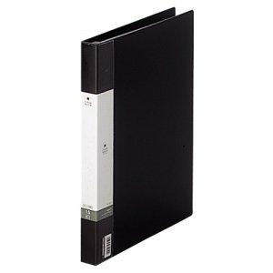 LIHIT G3801-24 リクエスト クリヤーブック(ポケット交換タイプ) A4タテ 30穴 15ポケット付属 背幅25mm 黒