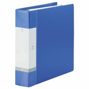 LIHIT G3808-8 リクエスト クリヤーブック ポケット交換タイプ A4縦 30穴 55+1ポケット 背幅65mm 青