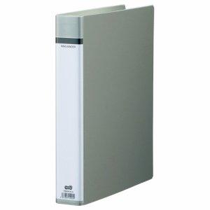 TRBHW-A4-G 30穴バインダー(貼り表紙) A4タテ 背幅51mm グレー 10冊セット 汎用品