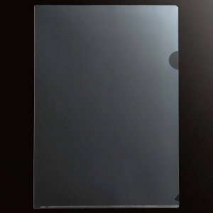 78-302 再生クリアホルダー A4 厚口(0.3mm) クリア 汎用品