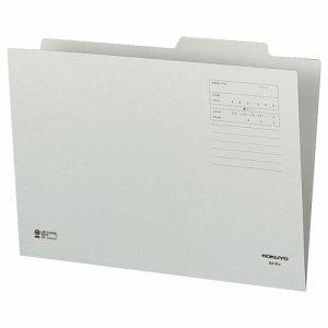 コクヨ B4-IFM 個別フォルダー(カラー) B4 グレー 10冊パック