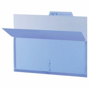 ライオン LFS-12PHブル- PPポケットホルダー A4 ブルー マチ付 LFS-12PH