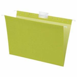 TCHF-A4-G ハンギングフォルダー A4 グリーン 5冊パック 汎用品