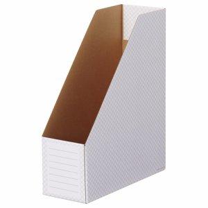TWBF-A4S-M ホワイトボックスファイル A4タテ 背幅100mm グレー 10冊パック 汎用品