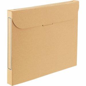 TFB3-A4-5N ファイルボックス A4 背幅32mm ナチュラル 5冊パック 汎用品