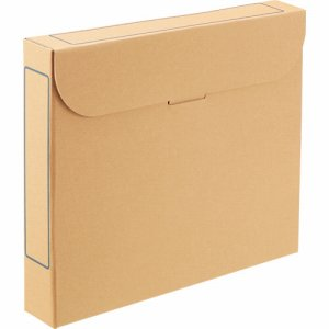 TFB5-A4-5N ファイルボックス A4 背幅53mm ナチュラル 5冊パック 汎用品