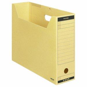 コクヨ B4-LFBN ファイルボックス-FS(Aタイプ) B4ヨコ 背幅102mm クラフト フタ付 5冊パック