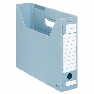 コクヨ A4-SFD-B ファイルボックス-FS(Dタイプ) A4ヨコ 背幅75mm 青