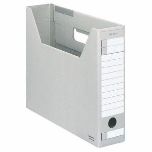 コクヨ A4-SFD-M ファイルボックス-FS(Dタイプ) A4ヨコ 背幅75mm グレー