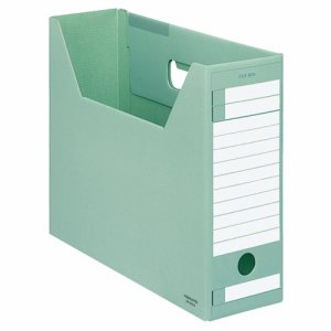 コクヨ A4-LFD-G ファイルボックス-FS(Dタイプ) A4ヨコ 背幅102mm 緑