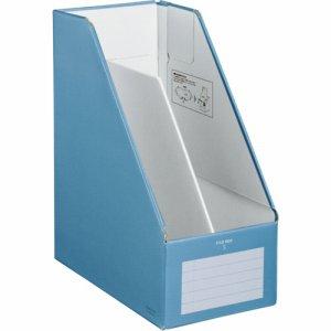 コクヨ フ-EW450B ファイルボックスS(ワイドタイプ) A4タテ 背幅150mm 青