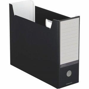 コクヨ A4-NELF-D ファイルボックス(NEOS) A4ヨコ 背幅102mm ブラック