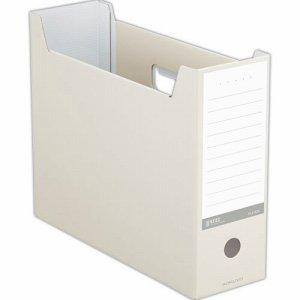 コクヨ A4-NELF-W ファイルボックス(NEOS) A4ヨコ 背幅102mm オフホワイト
