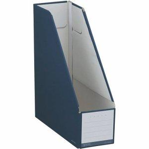 コクヨ フ-NEL450DB ファイルボックス(NEOS) スタンドタイプ A4タテ 背幅102mm ネイビー