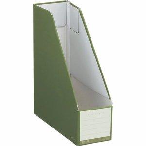 コクヨ フ-NEL450DG ファイルボックス(NEOS) スタンドタイプ A4タテ 背幅102mm オリーブグリーン