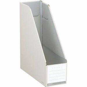 コクヨ フ-NEL450W ファイルボックス(NEOS) スタンドタイプ A4タテ 背幅102mm オフホワイト