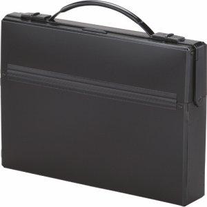 LIHIT A-660-24 ダレスバッグ A4 収納幅55mm 黒
