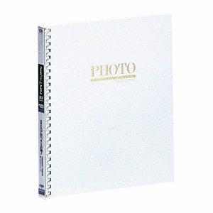 ナカバヤシ アL-JHO-91-W アルバムライトフォート15R 四ツ切サイズ 白