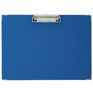 TYB-A5S 用箋挟 A5ヨコ型 ブルー 1セット20枚 汎用品