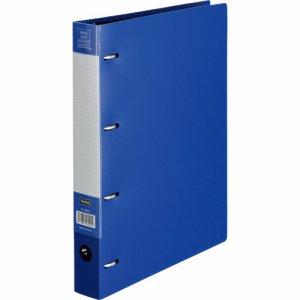 TN-360BL 名刺ホルダー 差替式 A4タテ 4穴 360名用 ヨコ入れ ブルー 汎用品
