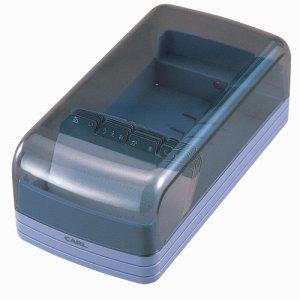 CARL No.860E-B 名刺整理器 600名収容 ブルー