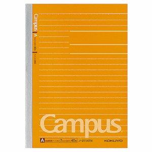 コクヨ ノ-211ATN キャンパスノート(ドット入リ罫線) B6 A罫 40枚 10冊セット