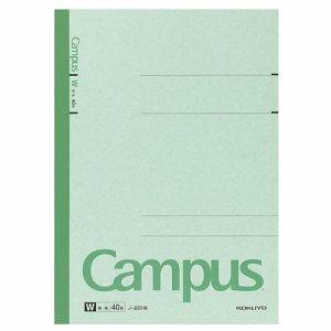 コクヨ ノ-201W キャンパスノート(特殊罫) A4 無地 40枚 10冊セット