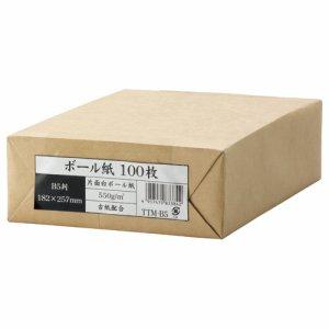 今村紙工 TTM-B5 ボール紙 B5 業務用パック