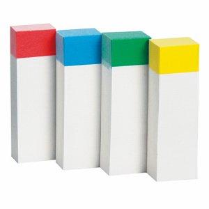TM5015-CB ふせん 50×15mm 色帯4色 20冊パック 汎用品