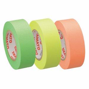 ヤマト RK-15H-A メモック ロールテープ つめかえ用 15mm幅 オレンジ&レモン&ライム
