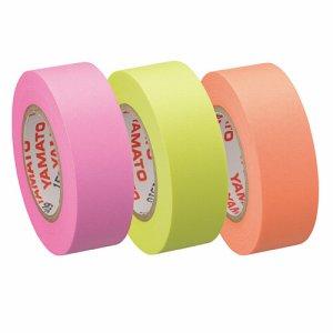 ヤマト RK-15H-C メモック ロールテープ つめかえ用 15mm幅 オレンジ&レモン&ローズ
