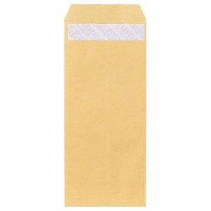 ピース 841 R40再生紙クラフト封筒 テープのり付 長4 70G /M2 〒枠あり