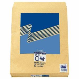 ピース 712 R40再生紙クラフト封筒 角0 85G /M2