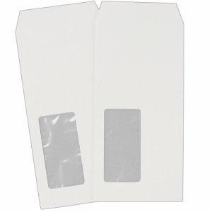 heart XQP651 透けない封筒 ケント 長6 セロ窓付 80G /M2 〒枠なし