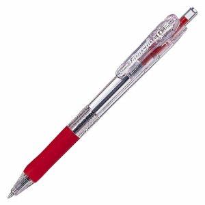 ゼブラ BNS5-R 油性ボールペン タプリクリップ 0.5mm 赤