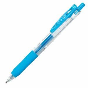 ゼブラ JJ15-LB ゲルインクボールペン サラサクリップ 0.5mm ライトブルー