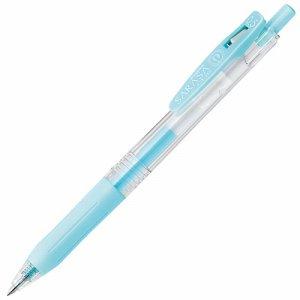 ゼブラ JJ15-MKBL ゲルインクボールペン サラサクリップ 0.5mm ミルクブルー